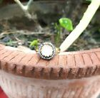 Natural Rose Cut Diamond Ring 925 Sterling Silver Jewelry Designer Ring R-1686