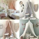 4 Colors Princess Mosquito Net Lace Dome Bed Canopy For Children Girls Insect  image