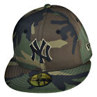 New Era New York Yankees 59Fifty Men's Fitted Hat Cap Camo-Black 70387062 on Ebay