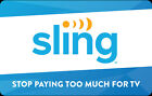 Kyпить Sling TV Gift Card - $25 $50 or $100 - Email delivery на еВаy.соm