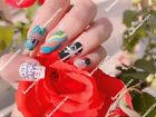 Color Nail Polish Strips BUY 04 GET 02 FREE Stickers Manicure *Christmas Autumn