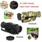 5X35 Infrared Digital Night Vision HD Monocular Telescope 13MP IR Hunting Video