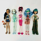 Monster High Doll Lot Of 5 Loose Dolls Fast Shipping!