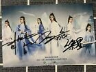 Signed Photo The Untamed Wang Yibo Sean Xiao Hand Autograph in ink 陈情令 王一博 肖战