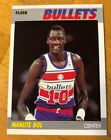 1987 FLEER BULLETS MANUTE BOL #13 Basketball Card