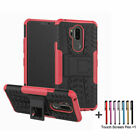 For LG G6 K4 V20 X Power Case Hybrid Dual Layer Protective Kickstand Phone Cover