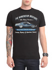 Supernatural TV Series THE WINCHESTER BROTHERS BUSINESS AD T-Shirt NEW Official  image