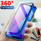 For Xiaomi Redmi 7 7A 6A 5 Note 7 6 5 Pro 360° Full Cover Case + Tempered Glass $1.68 USD on eBay