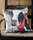 Indoor/Outdoor Animal Pillows Cow Chicken Horse Pig
