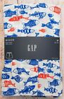 NIP Mens GAP Boxers 100% Cotton Elastic Waist Fish - 885099
