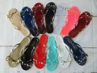 "New Jelly Sandal ""BARCELONA"" Women's Thong Flip Flop Slip On - Ann More Shoes"