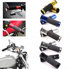 "7/8"" MOTORCYCLE RACING BIKES ALUMINUM HAND GRIPS HANDLE BAR FOR HONDA YAMAHA HOT $7.24 USD on eBay"