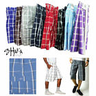 Kyпить Shaka Wear Men's Checkered Relaxed Fit Plaid Cargo Shorts Loose Fitting S~5XL на еВаy.соm