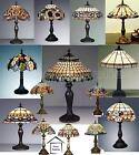 TIFFANY HANDCRAFTED TABLE LAMP MEDIUM SIZE ( 12'' INCH WIDE ) Stunning...