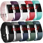 3 Pack Replacement Strap Sports Soft Watch Wristband Bands For FitBit Charge 2 image