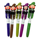 1pc Writing Pen Skeleton Pumpkin Light Creative Ghost Halloween Props for School