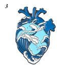 Anatomy Clothing Accessories Cartoon Lapel Pin Heart Brooch Enamel Badge