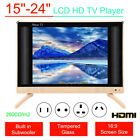 """15-24"""" HD Smart LCD TV Mini LED Music Television Player Audio Subwoofer HDMI USB"""