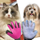 Pet Hair Glove Brush Comb Deshedding Dog Cat Grooming Cleaning Fur Removal