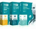ESET NOD32 Antivirus / Internet Security / Smart Security Premium 2019 3 YEAR