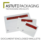 Quality Printed Postal A4 A5 A6 A7 Documents Enclosed Wallets Envelopes