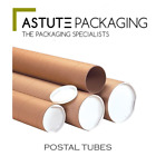 Best Quality Posting Cardboard A4 Postal Tubes + End Caps **Multi-Listing**