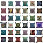 Indian Bohemian Mandala Boho Throw Pillow Cover Case Cushion Room Home Decor New