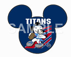 Disney Tennessee Titans personalized iron on transfer (choice of 1) $3.25 USD on eBay