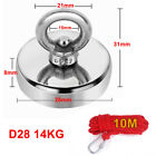 200kg Pull Salvage Strong Recovery Magnet Fishing Treasure Neodymium with Rope