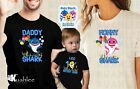 Baby Shark Personalized Custom Family Matching Birthday Party Shirts