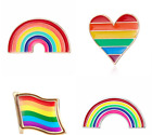 Unisex Cute Colourful Rainbow Brooch Nhs Support Choice Of 4 Styles Uk Seller
