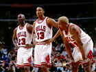 Chicago Bulls Legends Jordan Pippen Rodman Wall Print POSTER FR on eBay
