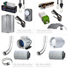 Kit for Cultivation Indoor with Kit Lighting and with Kit Intake