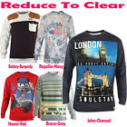 Mens Long Sleeve Sweatshirt Soul Star Pullover Jumper Crew Neck Casual Shirt Top