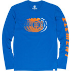Element Victory Long Sleeve T-Shirt Nautical Blue $30.38 USD on eBay