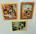 Lot of 3 Andy Griffith Show Theme Laminated Magnets