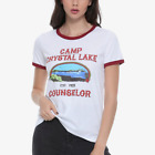 Friday The 13Th CAMP CRYSTAL LAKE COUNSELOR Girls Women's T-Shirt NEW Official