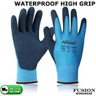 WATERPROOF GLOVE,GRAB & GRIP,FLEXIBLE 2 LAYER,LATEX PALM,LAND,WORK,FARM,YARD,VET