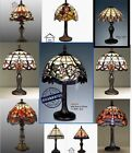 Tiffany Style Hand Crafted Glass Table / Desk / Bedside Lamps (STUNNING...