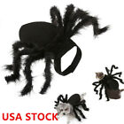 Spider Dog Costume Halloween Spider Pet Costumes Outfit Apparel Furry Spide NEW