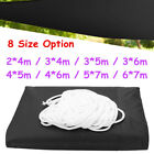 8 Size Sun Shade Sail Waterproof UV Outdoor Patio Garden Awning Canopy Top Cover