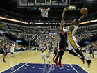 Paul George Indiana Pacers Slam Dunk NBA Wall Print POSTER CA on eBay