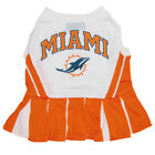 Miami Dolphins NFL Pets First Cheerleader Dog Dress Sizes XS-M $22.45 USD on eBay