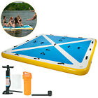 Inflatable Floating Mesa Dock Swim Deck Platform - Multiple Sizes