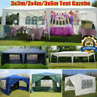 Gazebo Marquee Party Tent Waterproof Canopy 3x3/3x4/3x6m Pavilion Shade Shelter