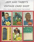 1960 Topps Football You Pick From Scans # 1 To # 132