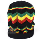 Jamaica Hat Reggae Rasta Peak Slouchy Crown Marley Dread Lock Cotton Tam NEW