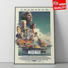 Midway Poster Roland Emmerich Movie Patrick Wilson Drama Film 2019 | A4 A3 A2 A1