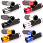 "7/8"" 22mm Motorcycle Handlebar Hand Grips For Honda Yamaha Ducati Cafe Racer US $9.59 USD on eBay"