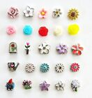 Authentic Origami Owl Flower Garden Charms Blush Rose, Gnome, More Retired, htf